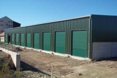 Železobetonová skladovací hala Oseva Agri, Kočí