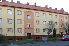 Zeteplení bytového domu, ul. Víta Nejedlého, Chrudim