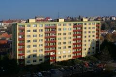 Zeteplení bytového domu, Palackého třída, Chrudim