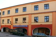 renovace fasády bytového domu, Štěpánkova ul. Chrudim