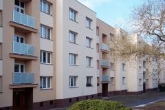 Zateplení sklepů, fasády, střechy, bytové domy Čavisovská Chrudim