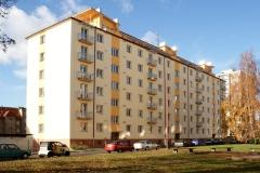 Zeteplení bytového domu, ul. B. Martinů, Chrudim