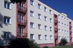 Zateplení fasády bytového domu, Na rozhledně, Chrudim