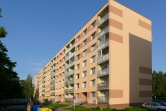 Zeteplení bytového domu, Dr.Milady Horákové, Chrudim