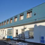 Výstvba administrativní budovy firmy Alukov