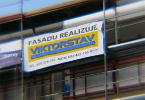 Fasádu realizuje Viktorstav