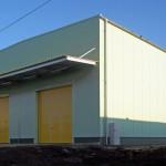 Výstavba víceúčelové skladové haly