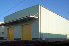 Víceúčelová skladová hala agrochemikálií, Smiřice