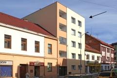 Zateplení bytového domu, Gorkého, Pardubice