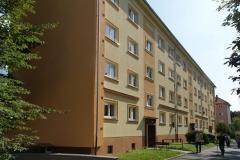 Zateplení fasády bytového domu, Jilemnického, Pardubice