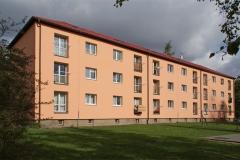 Zateplení fasády bytového domu, Wolkerova, Pardubice