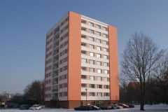 Zeteplení bytového domu, U Stadionu, Chrudim