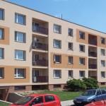 Zateplení fasády bytového domu, Husova, Chrudim