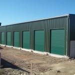 Železobetonové velkokapacitní skladovací haly na obilí