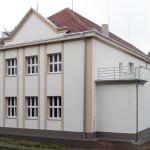 Revitalizace sokolovny - městys Škvorec